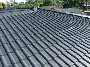Ceramic tile roof restoration