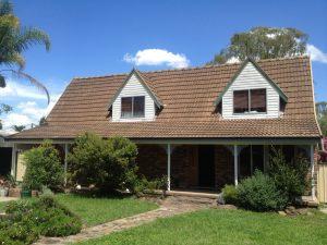 High pitch roof restoration
